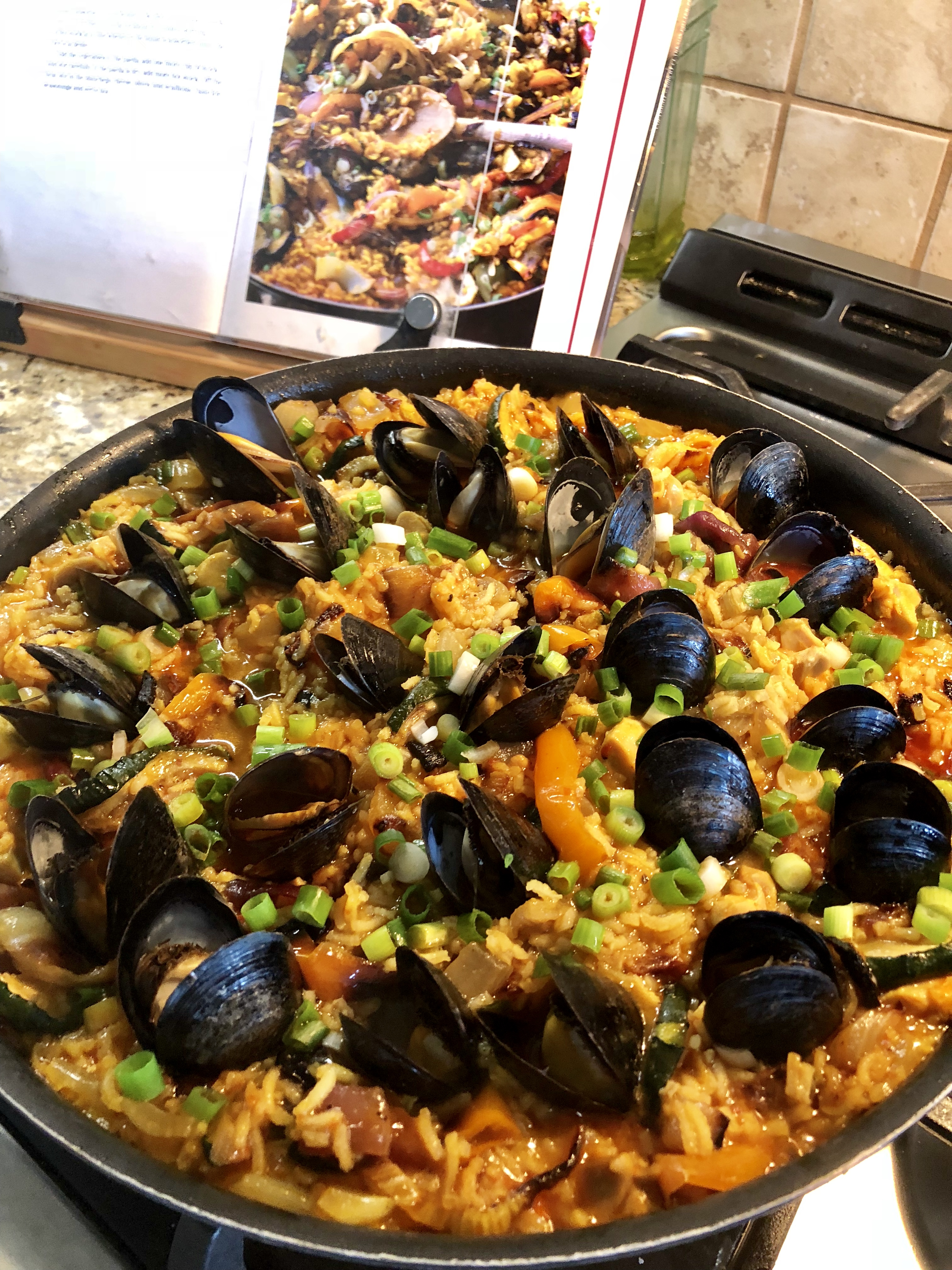 The Secret to Mastering Paella: Cooking Over a Wood-Burning Fire pics